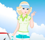 Barbie Golf Game